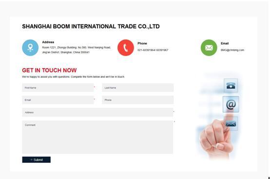 """不愁访客不联系,外贸网站""""联系我们""""页面设计要点"""
