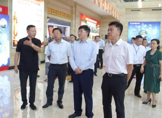 市商务委张智奎主任来荣调研 荣昌区领导班子莅临渝西国际